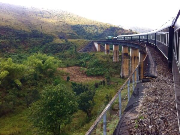 Travel Through Africa on a Steam Train